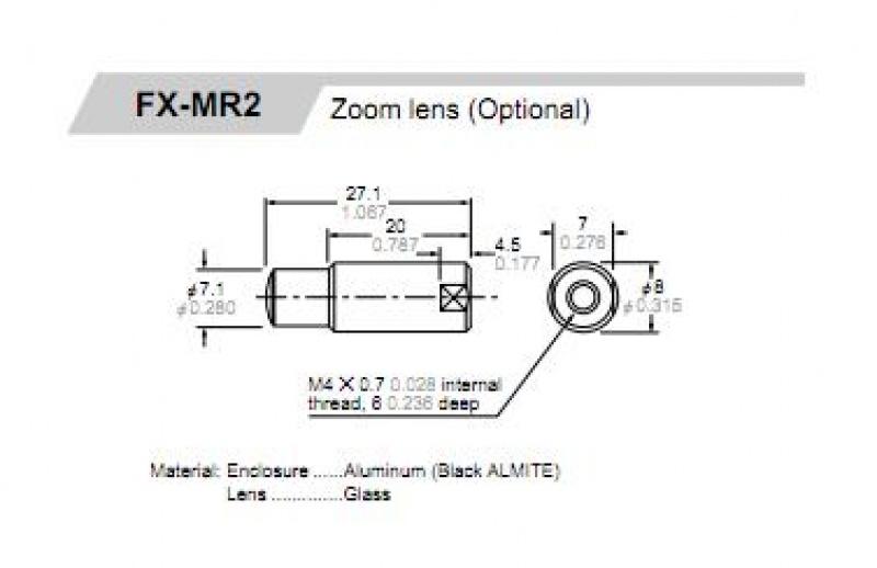 Lente para Fibra Ótica FX-MR2 - Produtos - JBV Automação d69910566d